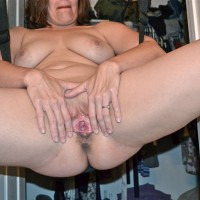 Swinging Pink Pussy Lips - Big Tits, Hanging Tits, Indoors, Large Breasts, Milf, Pussy Lips, Shaved Pussy, Showing Tits, Spread Legs, Sexy Ass, Sexy Boobs, Sexy Face, Sexy Legs