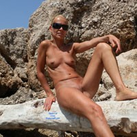 Blonde On A Rocky Nature - Blonde Hair, Exposed In Public, Firm Tits, Full Nude, Naked Outdoors, Nipples, Nude In Nature, Nude In Public, Nude Outdoors, Shaved Pussy, Small Tits, Sunglasses, Hot Girl, Naked Girl, Sexy Body, Sexy Face, Sexy Figure, Sexy Girl, Sexy Legs, Sexy Woman
