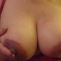 Very large tits of my wife - Hot MILF