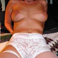 Medium tits of my wife - Lizzie