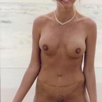 Medium tits of my wife - Sandy