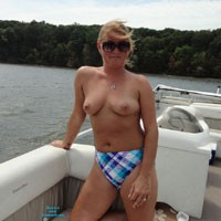 Topless On The Boat - Big Tits, Bikini, Blonde Hair, Exposed In Public, Firm Tits, Nipples, Nude Beach, Nude In Public, Nude Outdoors, Perfect Tits, Showing Tits, Sunglasses, Topless Girl, Topless Outdoors, Topless, Hot Girl, Sexy Body, Sexy Boobs, Sexy Face, Sexy Figure, Sexy Girl, Sexy Legs, Sexy Woman