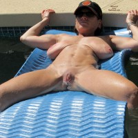 Some Fun Pool Time Shots - Big Tits, Shaved