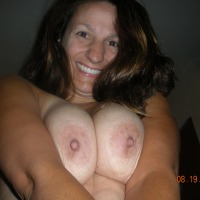 Medium tits of my ex-wife