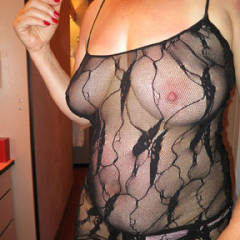 Nipples in a Nightie - Big Tits, Lingerie