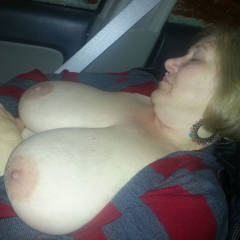 Car Ride - Big Tits