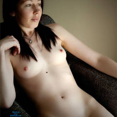 A Quiet Afternoon Alone - Brunette, Shaved, Small Tits