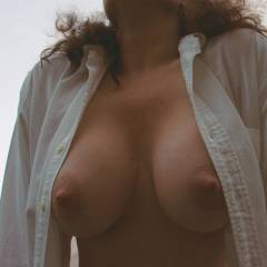 Large tits of my wife - Lisa