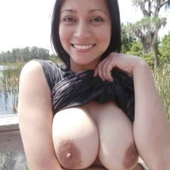 My large tits - Julia
