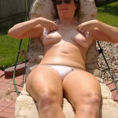 Small tits of my wife - kiba