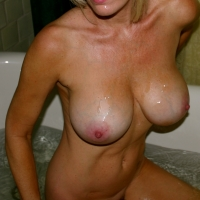 Large tits of my wife - Blondee