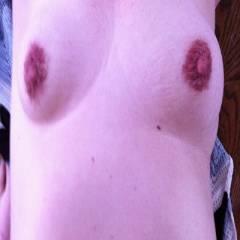 Medium tits of my girlfriend - maria
