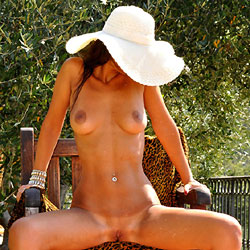 Spreading Legs UnderThe Olive Tree - Big Tits, Brunette Hair, Chair, Exposed In Public, Firm Tits, Full Nude, Heels, Huge Tits, Naked Outdoors, Perfect Tits, Pussy Lips, Shaved Pussy, Showing Tits, Spread Legs, Hairless Pussy, Hot Girl, Naked Girl, Sexy Body, Sexy Boobs, Sexy Feet, Sexy Figure, Sexy Girl, Sexy Legs, Sexy Woman