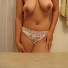 Large tits of my wife - Wifey Tits