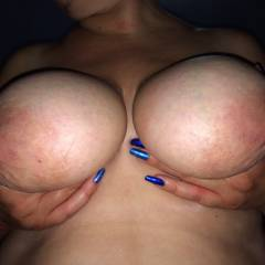 Large tits of my wife - Liza
