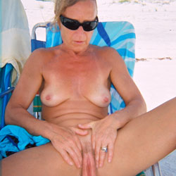 Linda Being a Slut - Beach, Medium Tits