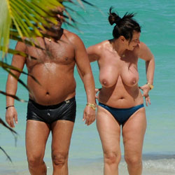 Super Boob Parade - Only Big This Round - Beach, Big Tits