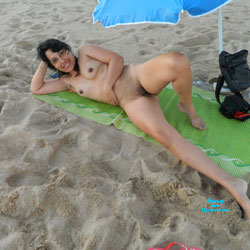 My Summer Vacation on The Beach - Beach, Brunette, Wife/Wives
