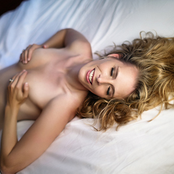 Horny Blonde Squeezing Tits - Bed, Blonde Hair, Firm Tits, Lying Down, Naked In Bed, Showing Tits, Topless Girl, Topless, Hot Girl, Sexy Body, Sexy Boobs, Sexy Face, Sexy Figure, Sexy Girl, Sexy Legs, Sexy Woman
