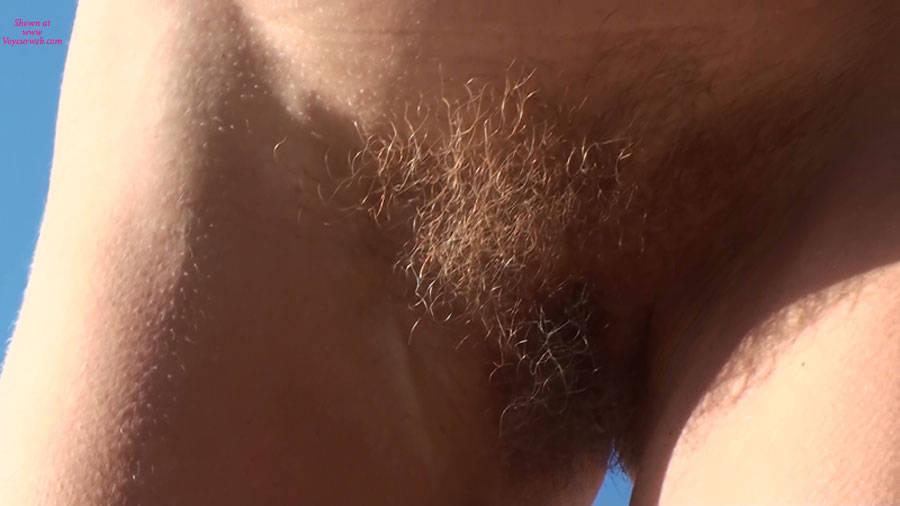 Pic #5 - Beach Voyeur:Beachfly Is Back With A Little Hairy Bush......!!