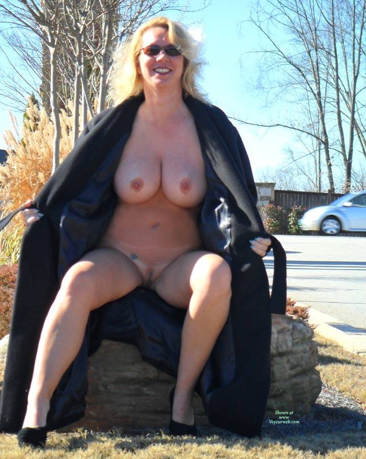 Tits Nude Trench Coat Png