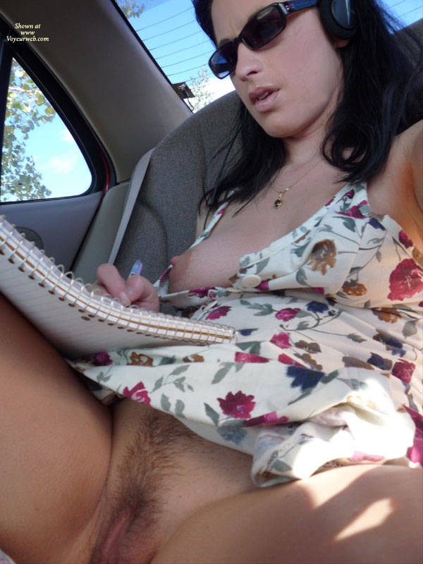Pic #1 - Flashing Tits And Pussy In A Car - Black Hair, Flashing, Huge Tits, Perfect Tits, Sunglasses , Sexy Pose, Flashing In Car, Perfect Nipples, Natural Breast, Trimmed Public Hair, Hairy Pussy, Girl With Sunglasses, Milky Tits, Medium Black Hair