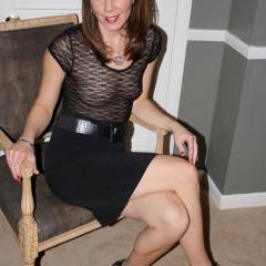 Nude Me: Trinity's Heels Pt. 1 - Flashing, Heels, Milf, See Through, Hot Wife