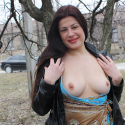 Sexy Viko - Big Tits, Brunette Hair, Exposed In Public, Flashing, Nude In Public, Wife/Wives