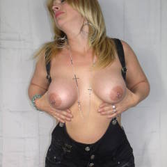 Large tits of my wife - Estella