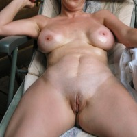 Large tits of my wife - JB