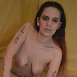 Getting Past The Nervousness - Big Tits, Tattoos