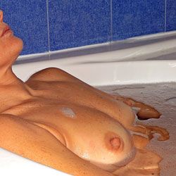 Relaxing Bath 2 - Hard Nipples, Wife/Wives