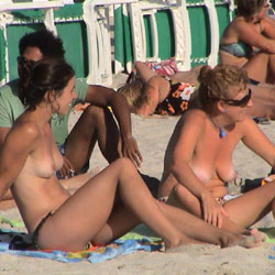 Boobs All Around The World - Beach