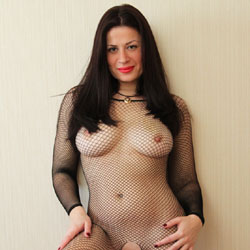 Fishnet anal german free