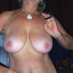 Medium tits of my girlfriend - Teresa