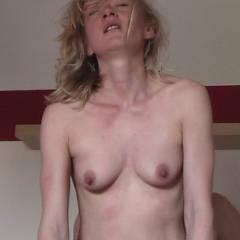 Small tits of my girlfriend - Sandy