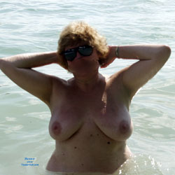 Wife Showing Off to The Boaters - Wife/Wives, Big Tits