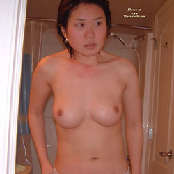After Shower - Big Tits, Brunette, Wife/Wives, Asian
