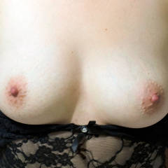 Small tits of my wife - Sarah