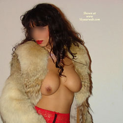Kosovo-Girl Posing in Germany - Big Tits, Brunette