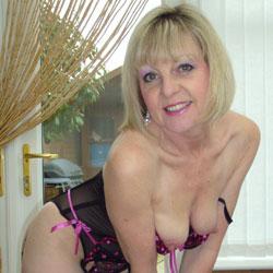 Sexy Joy - Blonde, Lingerie, Mature, Medium Tits