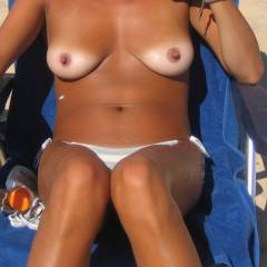 Very large tits of my wife - maria