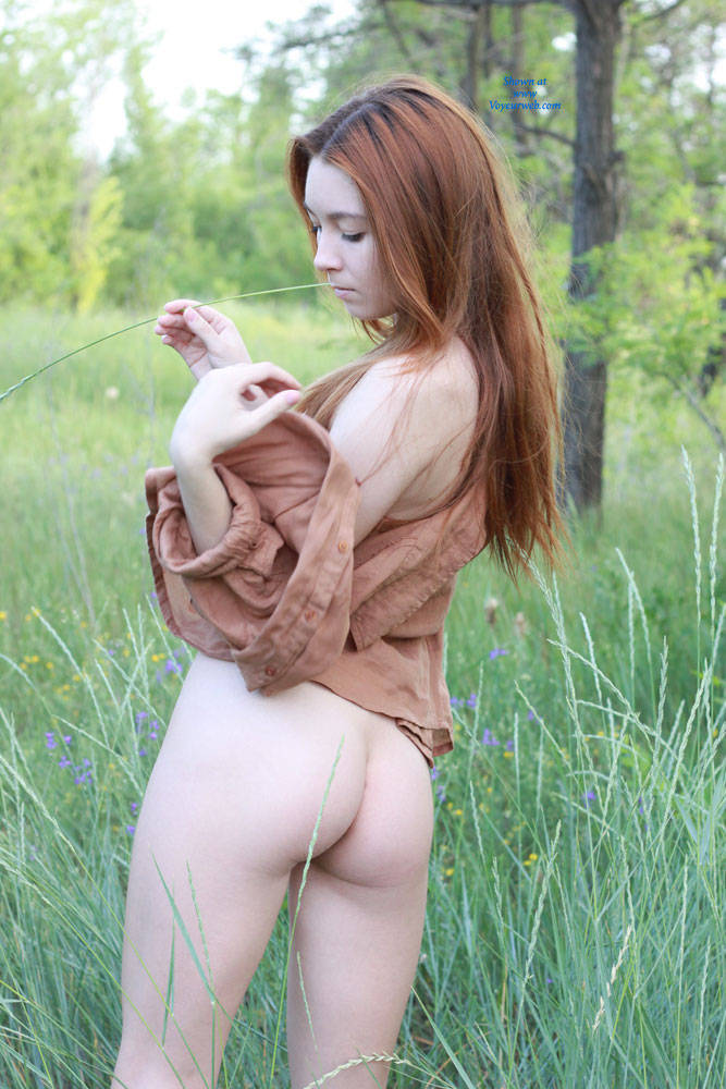 Pic #2 Vivienne in Nature - Nature, Redhead, Shaved