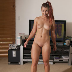 Sophie Works Out Part 1 - Medium Tits, Redhead