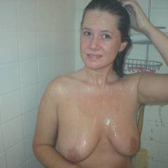 Large tits of a neighbor - Michelle