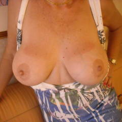 Large tits of my wife - Lacey