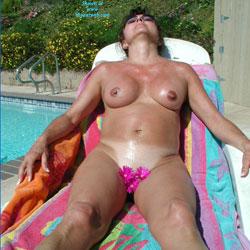 Sunning - Big Tits