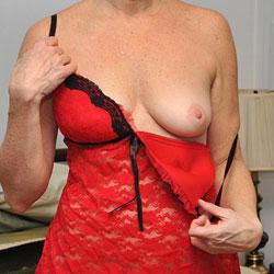 Sara Pre-shaved - Big Tits, Lingerie