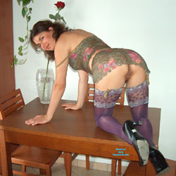 Pussy From Behind On Table - Brunette Hair, Doggy Style, Heels, Indoors, No Panties, Hot Girl, Pussy Flash, Pussy From Behind, Sexy Ass, Sexy Body, Sexy Face, Sexy Girl, Sexy Legs, Sexy Lingerie, Sexy Woman, Wife/Wives