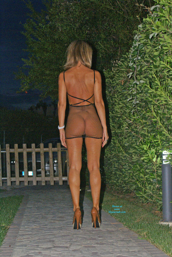 My Tan Line - Blonde Hair , After My Last Holidays , Spent In France , My Tan Line Was Great.  Like This, I Called Two Friends Of Mine And We Had A Wonderful Dinner. Then  They Took Some Pics Of Me In My Garden And We Had Fun. My Hubby Was Busy,  Outside . Please I Am Waiting  A Lot Of Votes And Sweet, Hot Comments. Kisses , Sexybionda
